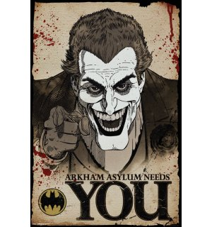 Poster - Joker Needs You