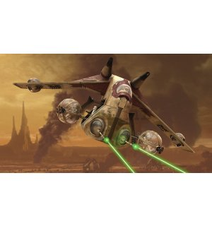 Foto tapeta: Star Wars Attack of the Clones (1) - 254x368 cm