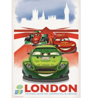 Foto tapeta: Cars 2 WGP London (reklama) - 184x254 cm