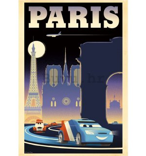 Foto tapeta: Cars 2 Paris (reklama) - 184x254 cm