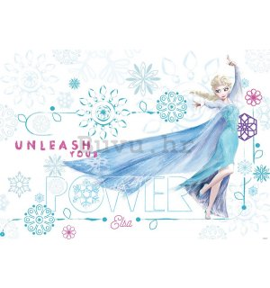 Foto tapeta: Frozen Unleash your Power - 184x254 cm