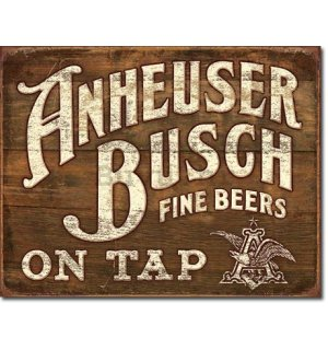 Metalna tabla - Anheuser-Busch (Fine Beer)