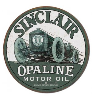 Metalna tabla - Sinclair (Opaline Motor Oil)