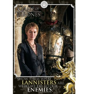 Poster - Game of Thrones (Show Them What Lannisters Are)