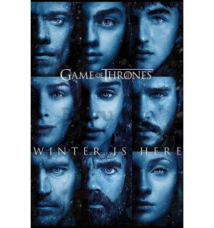 Poster - Game of Thrones (Winter is Here)