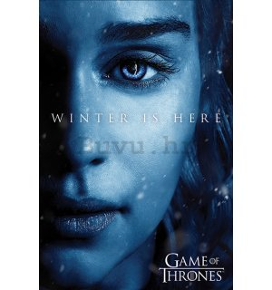 Poster - Game of Thrones (Winter is Here - Daenerys)