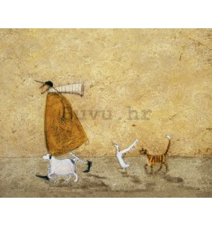 Slika na platnu - Sam Toft, Ernest Doris Horace and Stripes