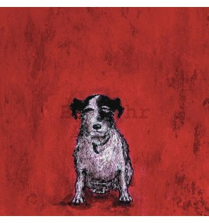 Slika na platnu - Sam Toft, Small Dog