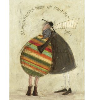 Slika na platnu - Sam Toft, Remembering When We First Met