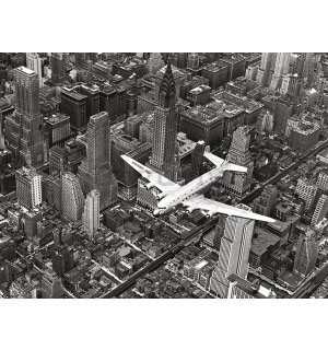 Slika na platnu - Time Life, DC-4 Over Manhattan