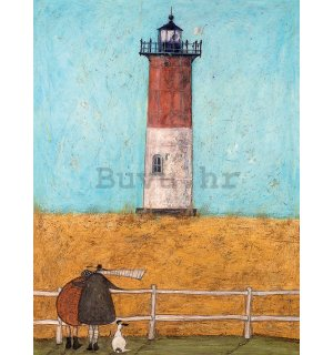 Slika na platnu - Sam Toft, Feeling the Love at Nauset Light