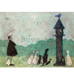 Slika na platnu - Sam Toft, An Audience with Sweetheart