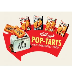 Slika na platnu - Kellogg's, Pop Tarts - Arrow
