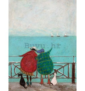 Slika na platnu - Sam Toft, We Saw Three Ships Come Sailing
