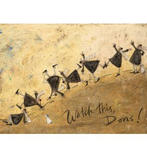 Slika na platnu - Sam Toft, Watch This, Doris!