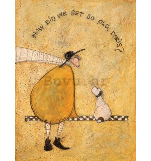 Slika na platnu - Sam Toft, How Did We Get So Old, Doris?