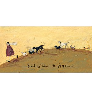Slika na platnu - Sam Toft, Walking Down to Happiness