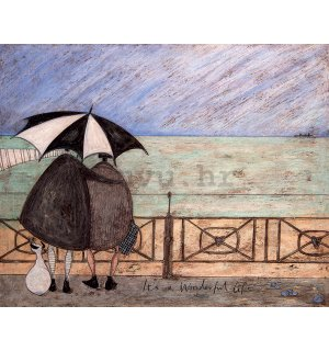 Slika na platnu - Sam Toft, It's a Wonderful Life