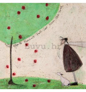 Slika na platnu - Sam Toft, The Apple Doesn't Fall Far From Tree