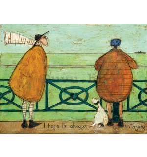 Slika na platnu - Sam Toft, I Hope I'm Always with You