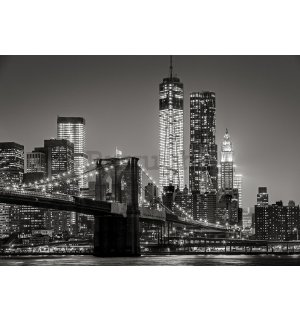 Vlies foto tapeta: Brooklyn Bridge (4) - 184x254 cm