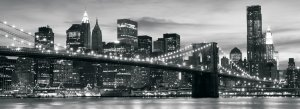 Foto tapeta: Brooklyn Bridge - 104x250 cm