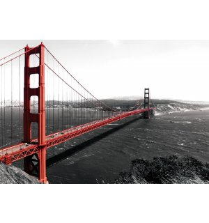 Foto tapeta Vlies: Golden Gate Bridge (1) - 254x368 cm