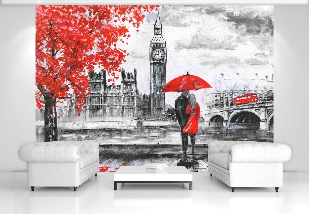 Foto tapeta: London (slikani) - 104x152,5 cm