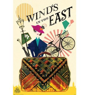 Poster - Mary Poppins Returns (Wind in the East)