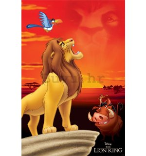 Poster - The Lion King (King of Pride Rock)