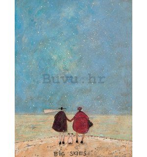 Slika na platnu - Sam Toft, Big Skies