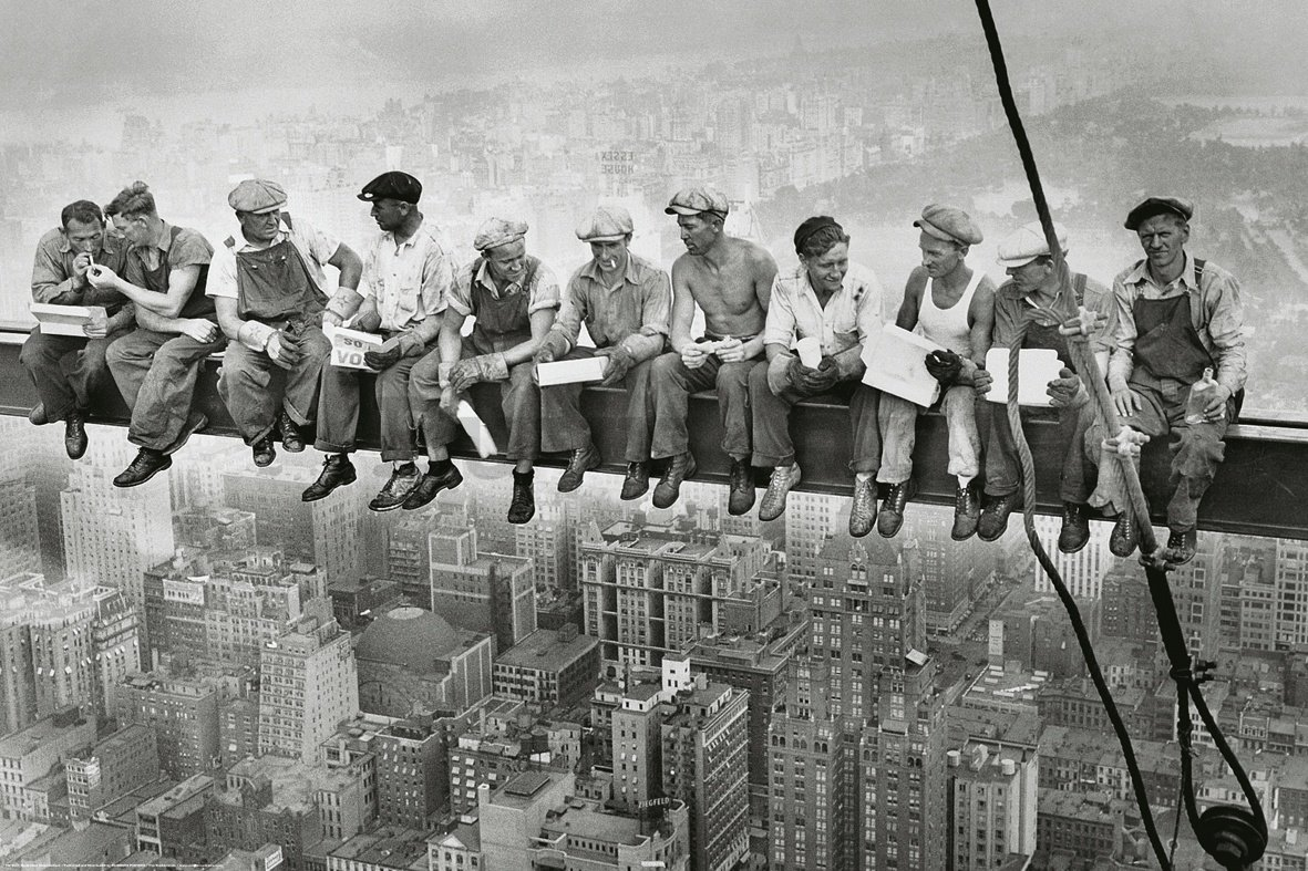 Poster - Manhattan Streetworkers
