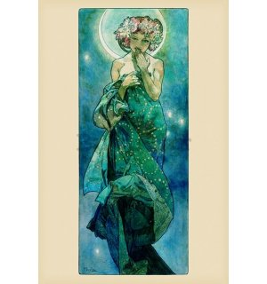 Poster - Mucha A. (Moon)