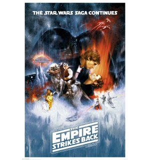 Poster - Star Wars V (The Empire Strikes Back)