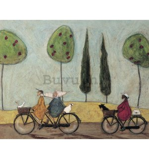 Slika na platnu - Sam Toft, A Nice Day for It