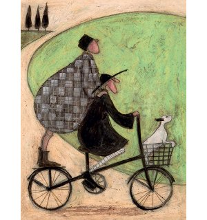 Slika na platnu - Sam Toft, Double Decker Bike