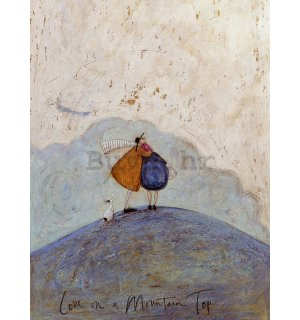 Slika na platnu - Sam Toft, Love on a Mountain Top