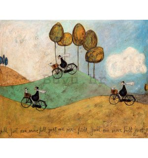 Slika na platnu - Sam Toft, Just One More Hill