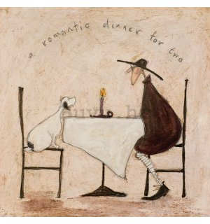 Slika na platnu - Sam Toft, A Romantic Dinner For Two