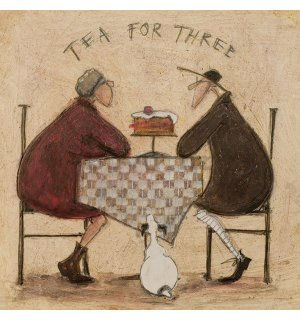 Slika na platnu - Sam Toft, Tea For Three 2