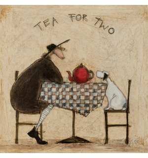 Slika na platnu - Sam Toft, Tea For Two