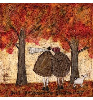 Slika na platnu - Sam Toft, Just Beginning To See The Light