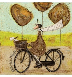 Slika na platnu - Sam Toft, Best Face Forward