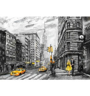 Foto tapeta: New York (slikani) - 184x254 cm