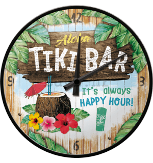 Retro sat - Tiki Bar
