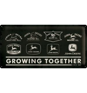 Metalna tabla - John Deere (Growing Together)