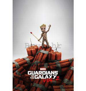 Poster - Guardians of the Galaxy vol.2 (Groot)
