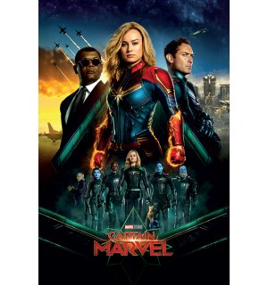 Poster - Captain Marvel (Epic)