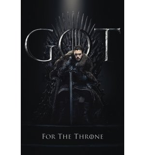 Poster - Game of Thrones (Jon For the Throne)