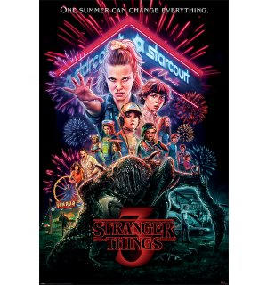Poster - Stranger Things (Summer of 85)